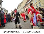ljubljana  slovenia on february ...   Shutterstock . vector #1022402236