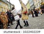 ljubljana  slovenia on february ...   Shutterstock . vector #1022402239