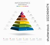 infographic template. vector...   Shutterstock .eps vector #1022404474