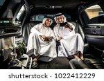 arabic businessmen in dubai | Shutterstock . vector #1022412229