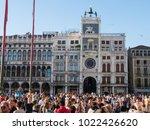 venice  italy  october 2  2011  ... | Shutterstock . vector #1022426620
