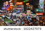 bangkok  thailand   jan 12 ... | Shutterstock . vector #1022427073