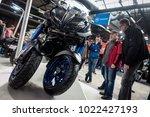 berlin  germany   february 10 ... | Shutterstock . vector #1022427193