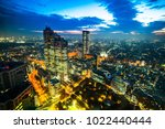 asia business concept for real... | Shutterstock . vector #1022440444