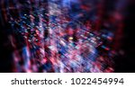 blockchain network concept  ... | Shutterstock . vector #1022454994