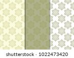 olive green floral backgrounds. ... | Shutterstock .eps vector #1022473420