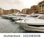 monaco  europe   january 2018 ...   Shutterstock . vector #1022483038