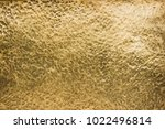 gold texture  golden color of... | Shutterstock . vector #1022496814