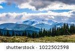 mountain landscape. peak  cloud ... | Shutterstock . vector #1022502598