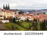 Panoramic View Of Praha And...