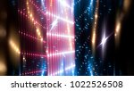 abstract pink background.... | Shutterstock . vector #1022526508