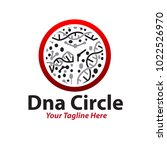 health dna circle logo | Shutterstock .eps vector #1022526970