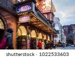 london  february  2018 ...   Shutterstock . vector #1022533603