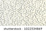 abstract geometric texture of... | Shutterstock . vector #1022534869