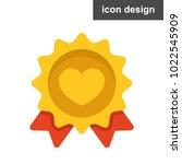 heart love banner icon