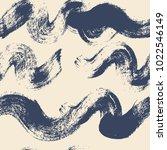 hand drawn artistic seamless... | Shutterstock .eps vector #1022546149