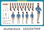 people character business set.... | Shutterstock .eps vector #1022547949