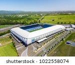 cbus super stadium the gold... | Shutterstock . vector #1022558074