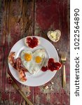 Plate Of Valentines Breakfast...