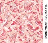 Pink Birds And Butterflies...