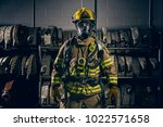 Firefighter Wearing The...