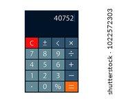 smartphone calculator app...