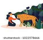 vr glasses vector illustration. ... | Shutterstock .eps vector #1022578666