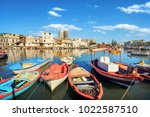 traditional colorful fishing... | Shutterstock . vector #1022587510