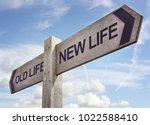 new life concept for fresh...   Shutterstock . vector #1022588410