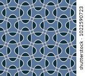 seamless intersecting geometric ... | Shutterstock .eps vector #1022590723