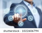 update software computer... | Shutterstock . vector #1022606794