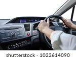 inside view of a car with a... | Shutterstock . vector #1022614090