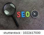 magnifier glass  colorful...   Shutterstock . vector #1022617030