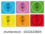 voice icon and logo | Shutterstock .eps vector #1022623804
