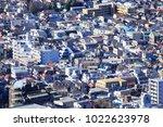 shinjuku  tokyo  japan  ... | Shutterstock . vector #1022623978