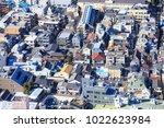 shinjuku  tokyo  japan  ... | Shutterstock . vector #1022623984