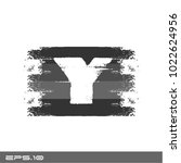 letter y logo icon   Shutterstock .eps vector #1022624956