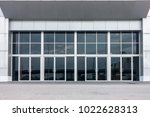 aluminum composite and entrance ... | Shutterstock . vector #1022628313