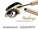 vector sketch illustration of...   Shutterstock .eps vector #1022629579