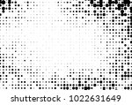 abstract futuristic halftone... | Shutterstock .eps vector #1022631649