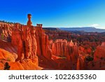 Bryce Canyon At Sunrise  Usa