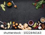 gastronomy  culinary. secrets... | Shutterstock . vector #1022646163