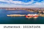 melbourne's port phillip bay...   Shutterstock . vector #1022651656