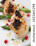 close up of delicious appetizer ... | Shutterstock . vector #1022661298