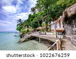 boracay  philippines   nov 18 ... | Shutterstock . vector #1022676259