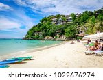 boracay  philippines   nov 18 ... | Shutterstock . vector #1022676274