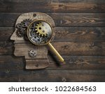psychology or invent conception.... | Shutterstock . vector #1022684563