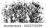 halftone black and white vector.... | Shutterstock .eps vector #1022715259