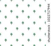 seamless tree pattern background | Shutterstock .eps vector #1022717944
