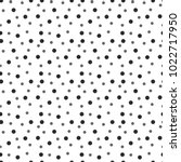 seamless dots pattern background | Shutterstock .eps vector #1022717950